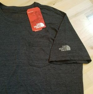 The North Face XL Slim fit dark gray T-shirt